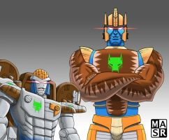 Rattrap and Dinobot by rattrap587