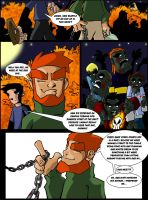 Page 1 of Monster Comic by misterzubair