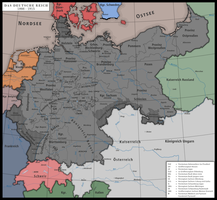 Height of the German Empire by Nymain
