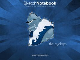 SKNB Desktop Cyclops by WarBrown