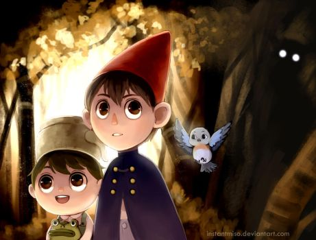 Over The Garden Wall by instantmiso