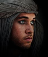 Tired of the desert. by LiciaLestrange