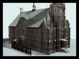 Classic Church Design by saunteringstep