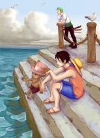 at the piers by purrbeast