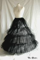 Fluffy hoop skirt by Stahlrose