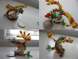 Bead Dragon VI by kameeko