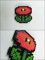 Super Mario 3 flower bead sprite by 8bitcraft