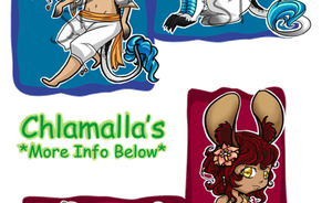 Chlamalla Adopts - OPEN by BrandonL-Adopts