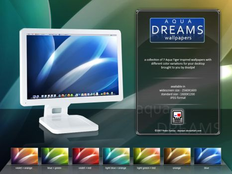 Aqua Dreams Wallpapers by deadPxl