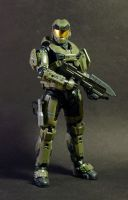 Custom Master Chief Figure - Halo Reach by Fire1138