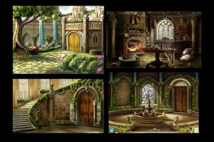The Dreamless Castle BGs by The-Hand