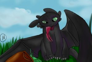 Toothless by iggyt14