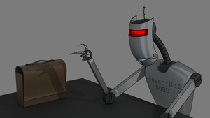 Lawyer-Bot 5000 by scetxr-efx