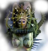 Cyber Doll Detail by goor