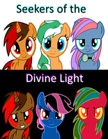 Seekers of the Divine Light-Comic Cover #1 by EmoshyVinyl