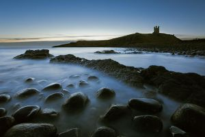 Dunstanburgh Dawn by Waylandscape