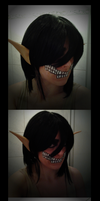Gamescom 2014 Cosplay - make up try by fox-xy