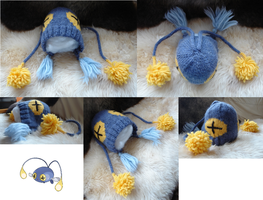 Chinchou Hat (for sale!) by MedeiaDesigns