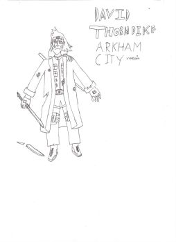 David Thorndike after Arkham City (non Coluored) by Inquisitorchris1