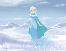 Snow Queen Periwinkle by InuyashaRules6596
