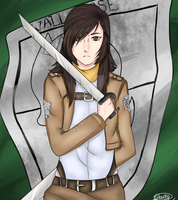 Me in SnK by Elenaititis01