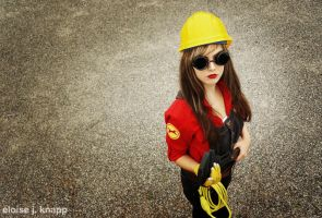 TF2 Fem Engineer Cosplay 6 by leAlmighty