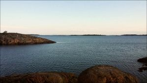 A Cilly Day At The Outer Archipelago On October 21 by eskile