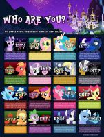 MLP FIM MBTI Chart by MBTI-Characters