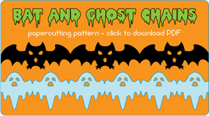 Bat and Ghost patterns by quexthemyuu