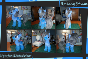 Steamy Plush Compilation by SwiftStitchCreations
