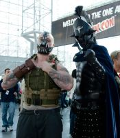 Bane and Ares NYCC 2013 by lovingthor