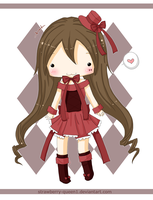 Chibi Doll January by strawberry-queen1