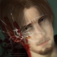 Resident Evil Leon Kennedy by h-leao