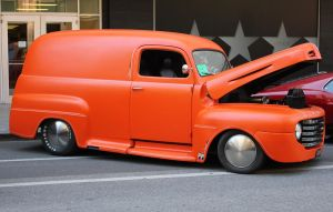 Tangerine truck by finhead4ever