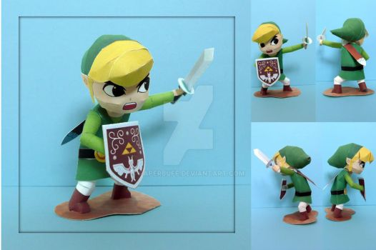 Wind Waker Link Papercraft by PaperBuff