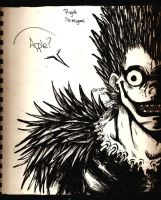 Ryuk the Shinigami by SamColwell