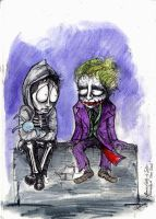 Donnie Darko meet the Joker by cpn-blowfish