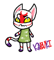 Kabuki from Animal Crossing :3 by freak-fox