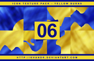 Yellow Burns - Icon Texture Pack #06 by KhanDR