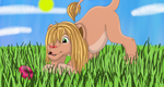I Found One!_Easter Egg Hunting by SolitaryGrayWolf