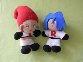 Jessie and James Plush by KC-Kangaroo