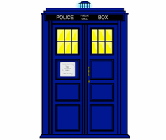 Doctor Who TARDIS Spin by Silverhammer37