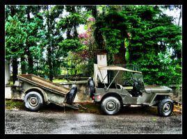 Old Militar Car by Evicas