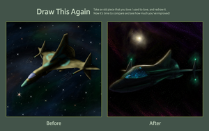 Draw This Again - Lost in Space by erenik
