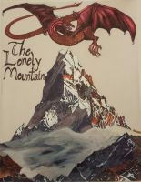 The Lonely Mountain by dragynfyre18