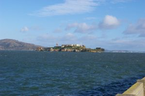 Alcatraz from Hyde St Pier by mirengraphics