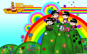 Yellow Submarine Wallpaper by YukiMiyasawa