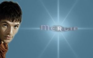 Merlin Blue Star Wallpaper by PirateFairy