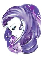 Rarity +-Daily Sketch-+ by Ethevian