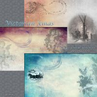 Victorian xmas-large textures by libidules